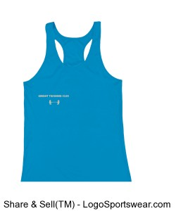 Ladies Racerback Tank by Badger Sports Design Zoom